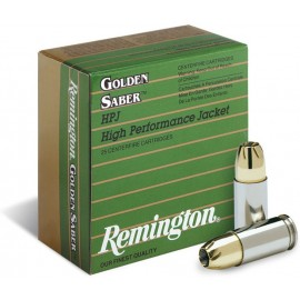 Munición Remington - Golden Saber HPJ 9mm.