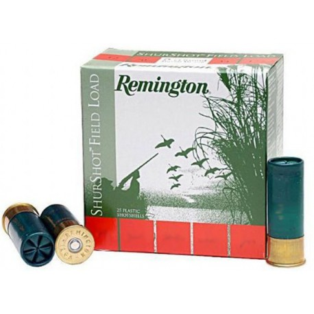 Cartuchos de caza 12/70 REMINGTON Shurshot
