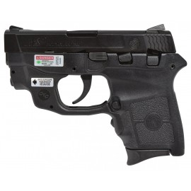 Pistola SMITH & WESSON M&P BODYGUARD 380 láser verde