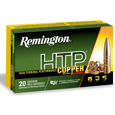 Munición metálica REMINGTON HTP Copper - 300 AAC Blk - 130 grains - 27710