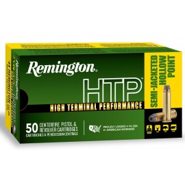Munición metálica REMINGTON HTP - 44 Rem. Mag. - 240 grains