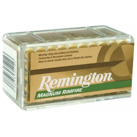 Munición REMINGTON .22 Magnum Rimfire