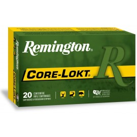 Munición metálica REMINGTON CORE-LOKT - 7 RUM - 150 grains - 27759
