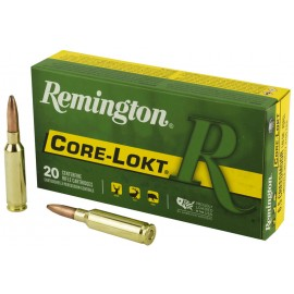 Munición metálica REMINGTON CORE-LOKT - 6.5 Creedmoor - 140 grains - 27657