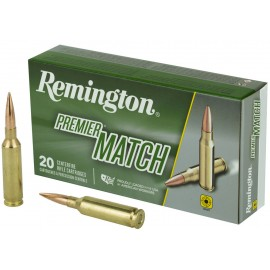 Munición metálica REMINGTON PREMIER MATCH - 6.5 Creedmoor - 140 grains - 27661