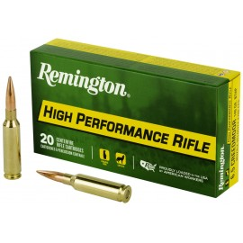 Munición metálica REMINGTON HIGH PERFORMANCE RIFLE - 6.5 Creedmoor - 140 grains - 27671
