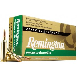 Munición metálica REMINGTON PREMIER ACCUTIP-V - 243 Win. - 75 grains