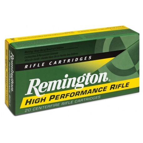 Munición metálica REMINGTON HIGH PERFORMANCE RIFLE