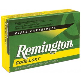Munición metálica REMINGTON CORE-LOKT - 25-06 Rem. - 100 grains