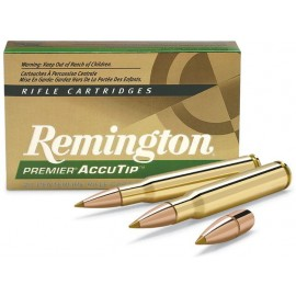 Munición metálica REMINGTON PREMIER ACCUTIP - 30-06 - 165 grains