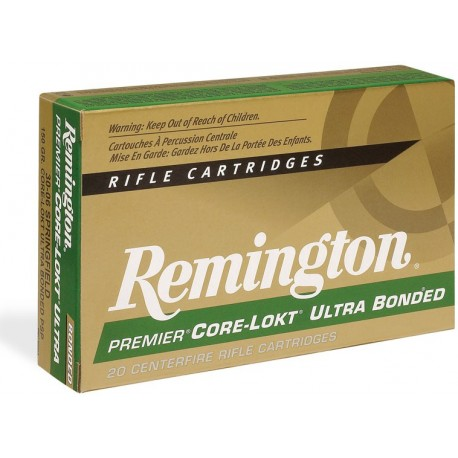 Munición metálica REMINGTON - CORE LOKT ULTRA BONDED