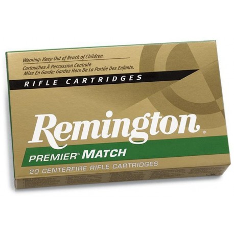 Munición metálica REMINGTON PREMIER MATCH