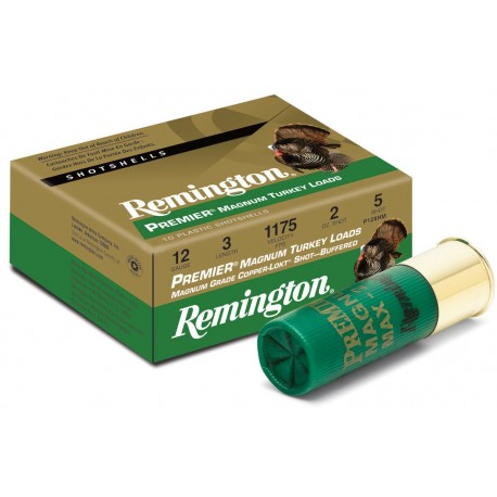 Cartuchos de caza 12/70 REMINGTON Magnum Copper Plated Turkey
