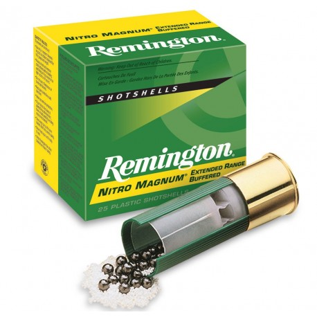 Cartuchos de caza 20/76 REMINGTON Nitro Mag.