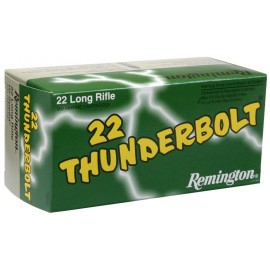 Munición REMINGTON .22 LR Thunderbolt