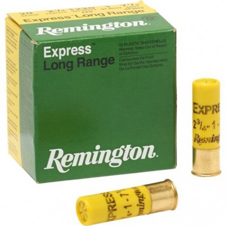 Cartuchos de caza 12/70 REMINGTON EXPRESS Extra Long Range