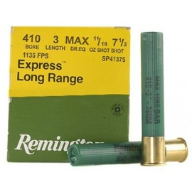 Cartuchos de caza .410/76 REMINGTON EXPRESS Extra Long Range 20gr. P-7.5