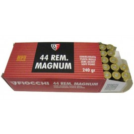 Munición FIOCCHI - 44 Rem. Mag. - 240 grains