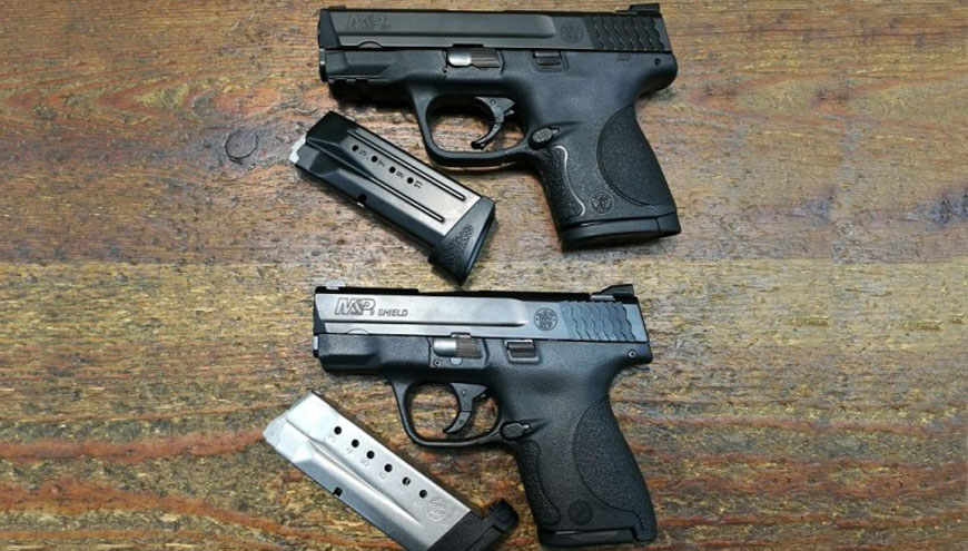 Smith & Wesson Shield vs M&P Compact