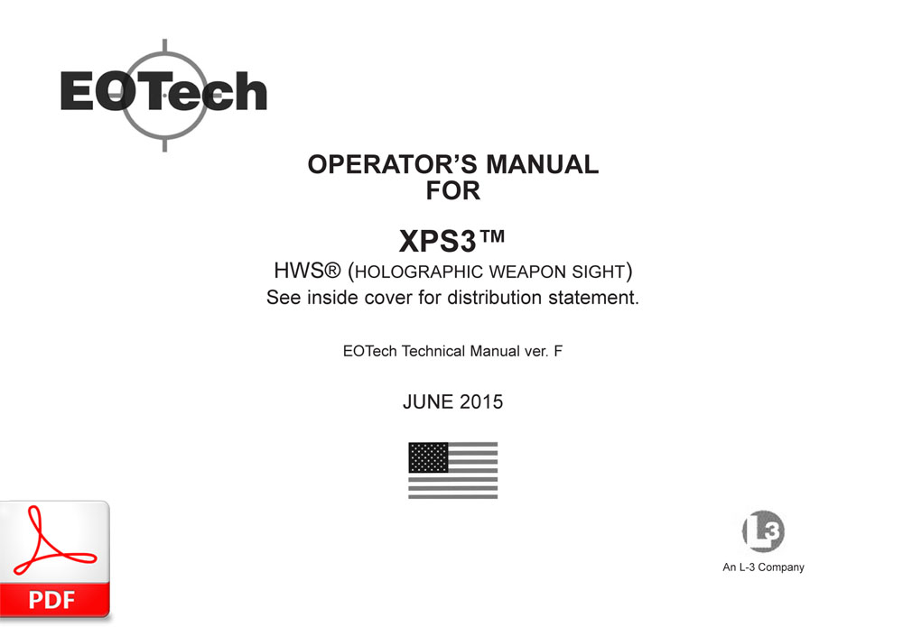 EOTech XPS3