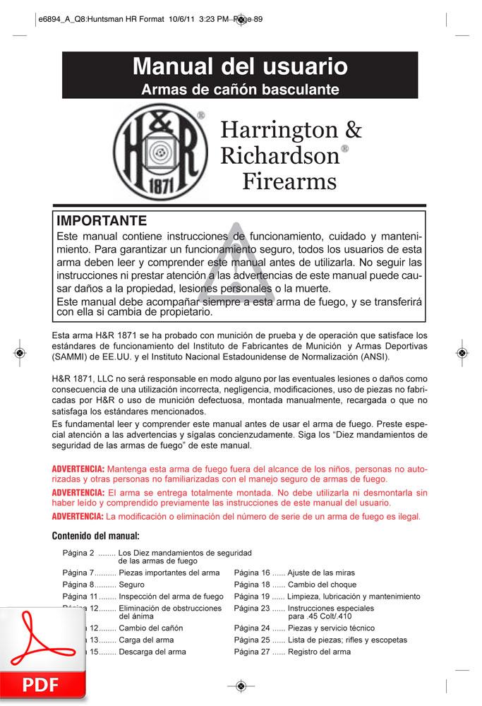 H&R 1871 (armas de cañón basculante)