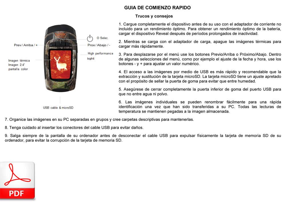 SEEK THERMAL Reveal (español)