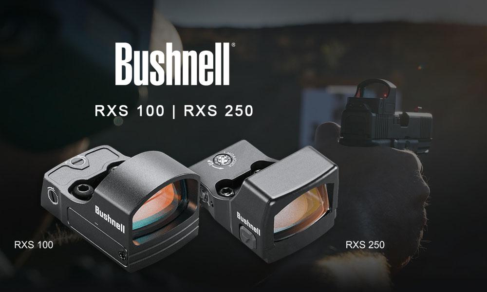 Nuevas ópticas de punto rojo Bushnell RXS-100 y RXS-250