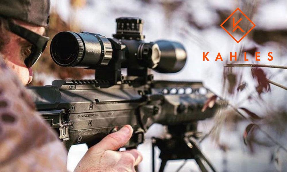 El visor KAHLES K525i 5-25x56 estrena retícula AMR