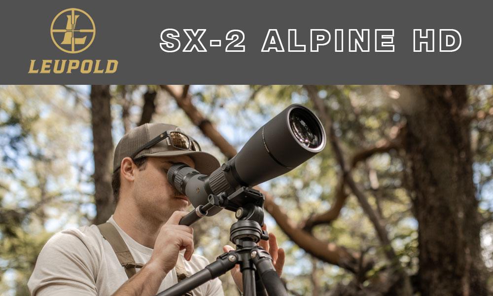 Telescopio terrestre LEUPOLD SX-2 Alpine HD