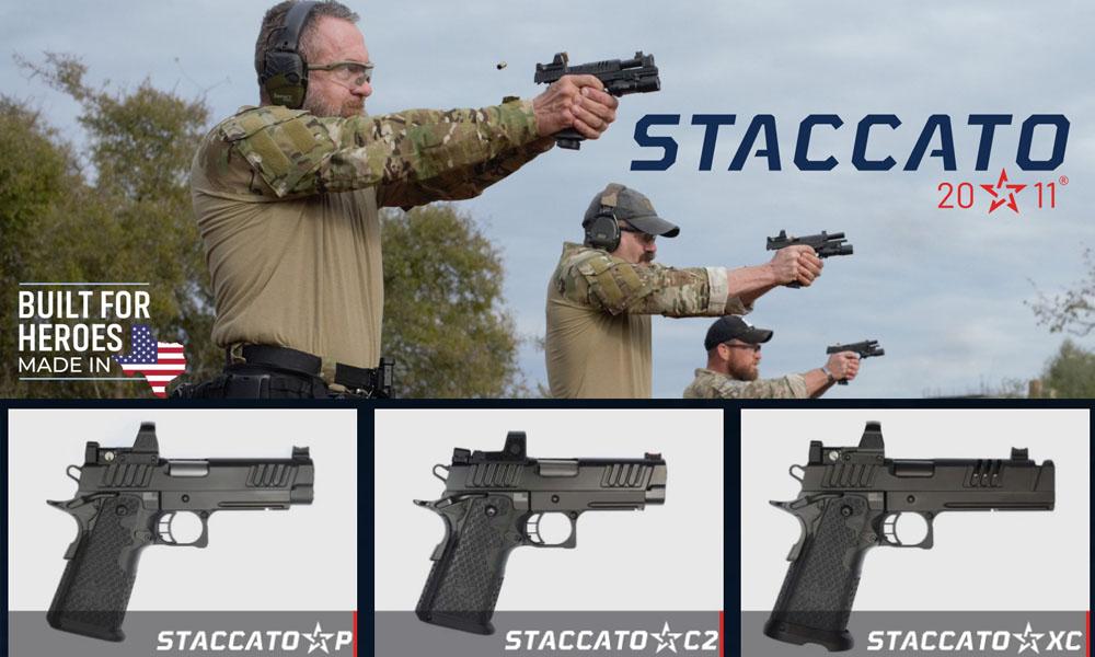 STI Firearms LLC pasó a llamarse STACCATO desde el pasado 2020