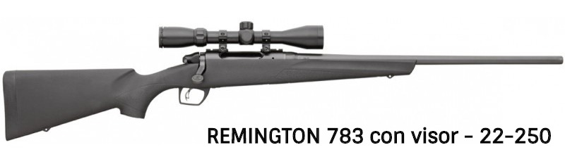 Remington 783 en 22-250