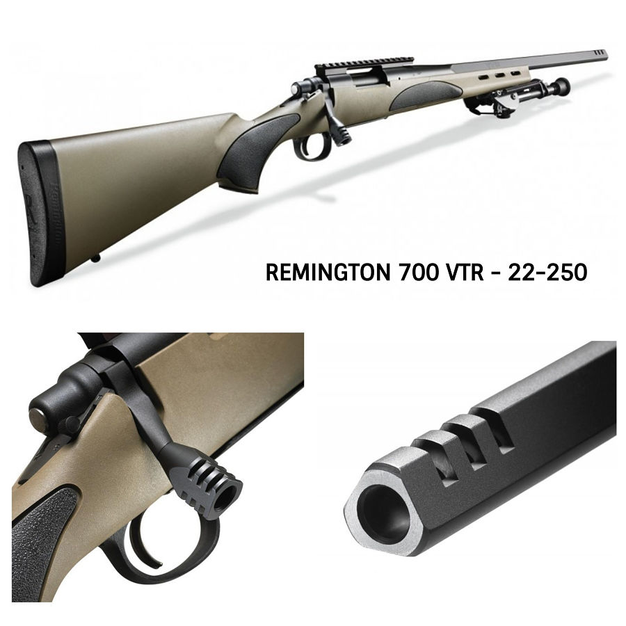 Remington 700 VTR en 22-250