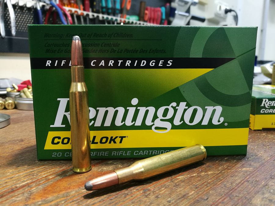 .270 Winchester Remington Core-Lokt SP 150 g munición