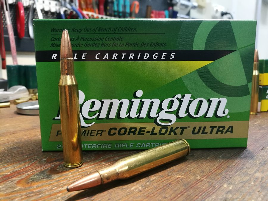 .270 Winchester Remington Core-Lokt Ultra Bonded 130 g munición