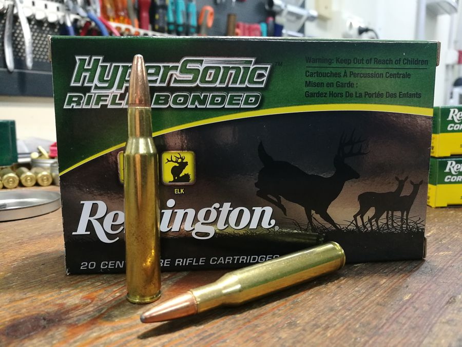 .270 Winchester Remington Hypersonic Rifle Bonded 140 g munición