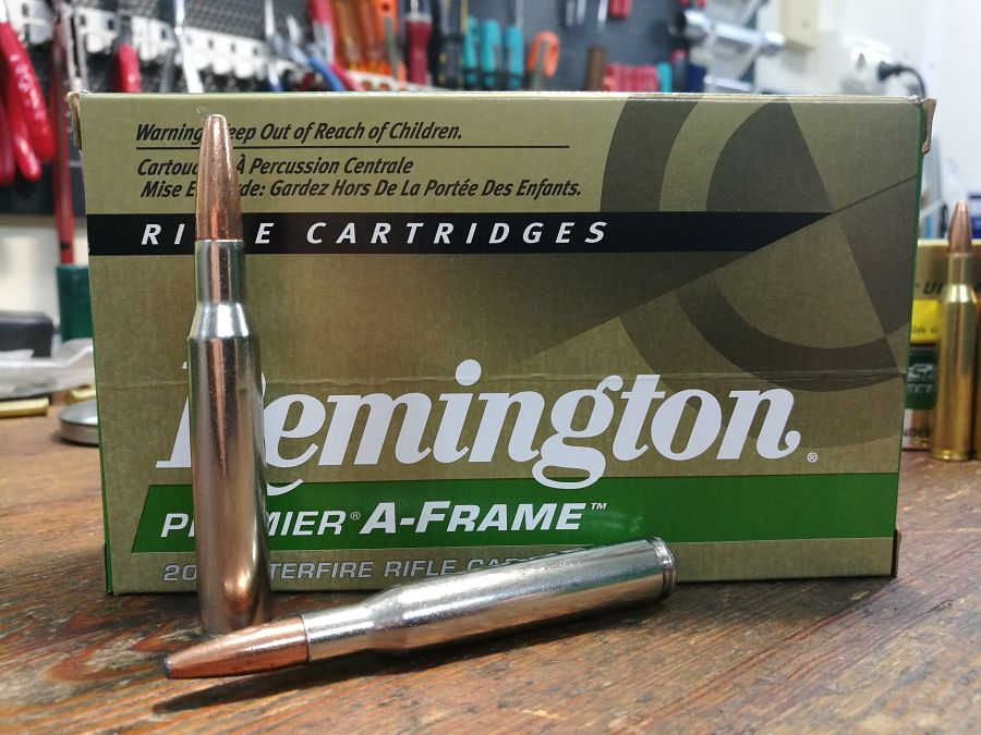 .270 Winchester Remington Swift A-Frame 140 g munición