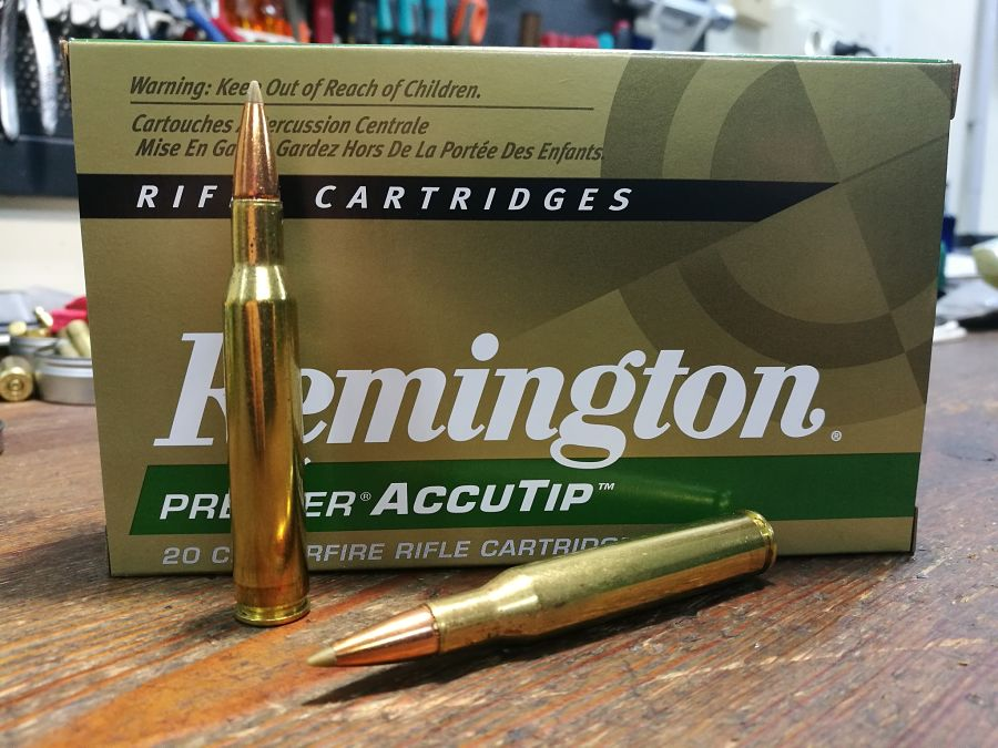 .270 Winchester Remington Premier ACCUTIP 130 g munición