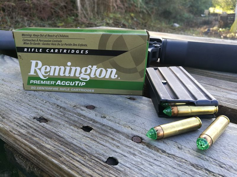 BUSHMASTER 450 Munición Remington Premier ACCUTIP