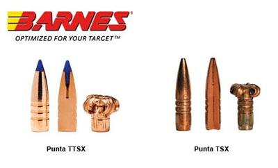 Munición BARNES VOR-TX TTSX 168 gr. en 30-06 y Rifle Steyr ...