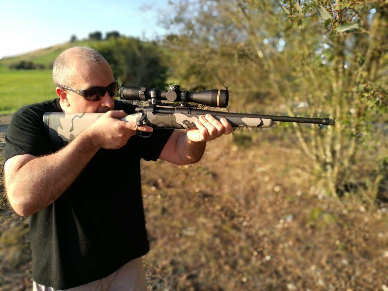 Remington SEVEN KUIU Probándolo
