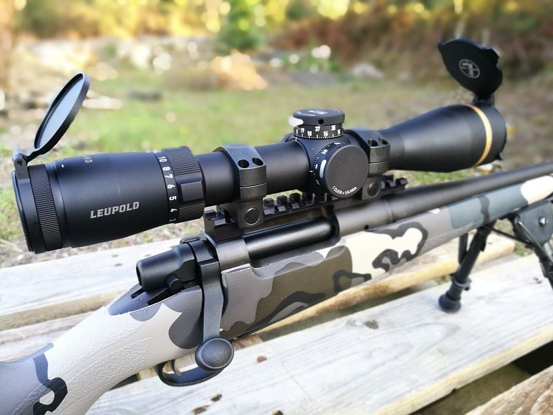 Remington SEVEN KUIU LEUPOLD VX-6HD 2-12x42 CDS-ZL2 T-MOA