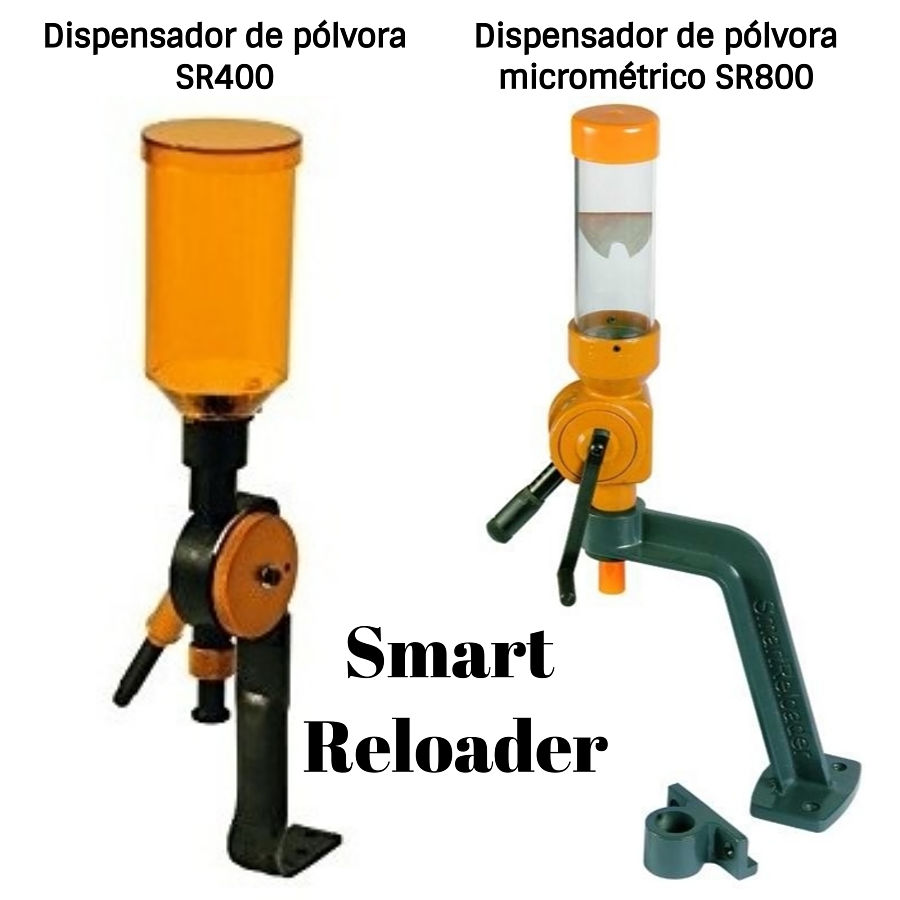 SmartReloader dispensadores de pólvora