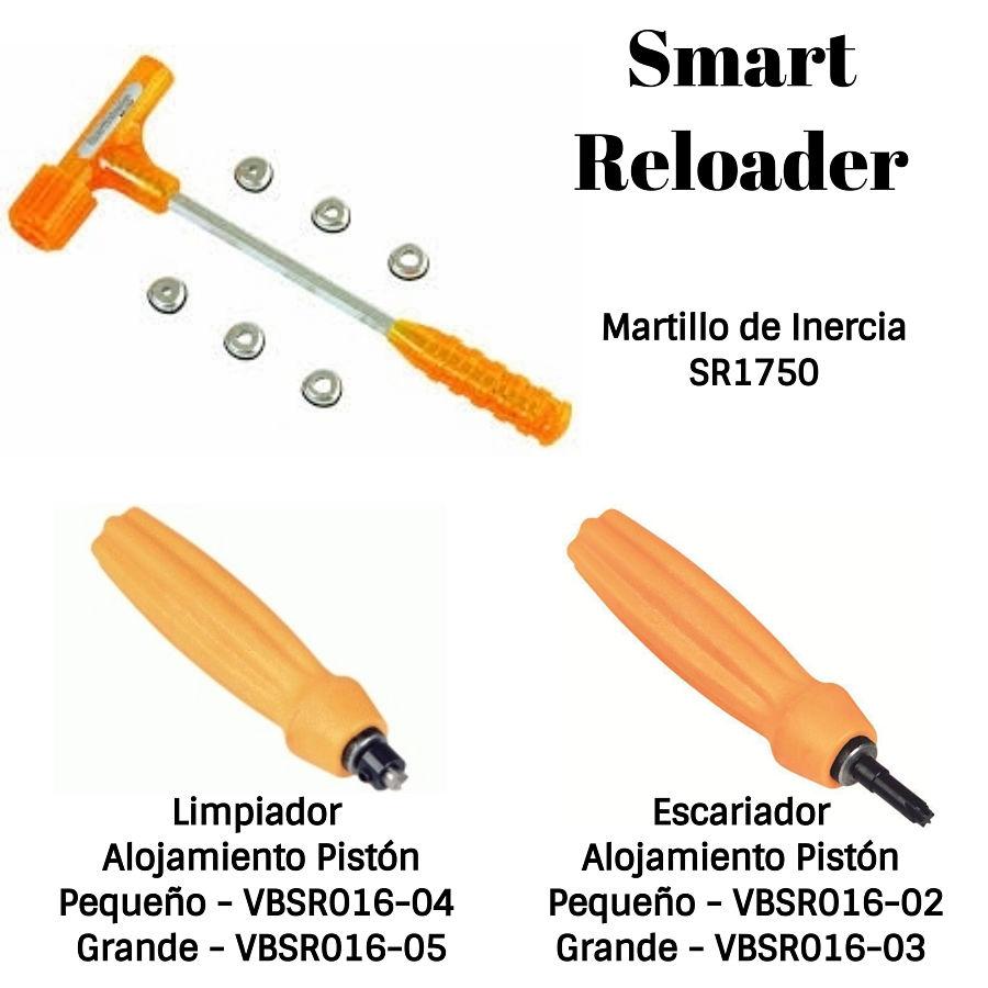 SmartReloader martillo, limpiador y escariador alojamiento del pistón