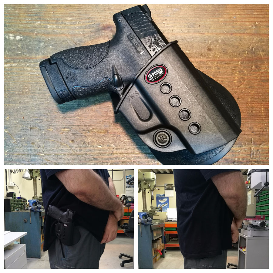 Funda FOBUS OWB para Smith & Wesson M&P Shield
