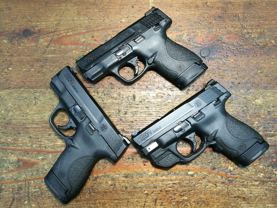 Versiones de la S&W M&P Shield