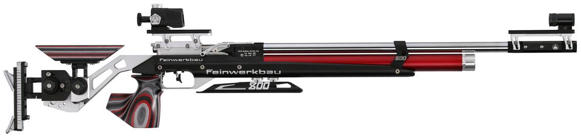 Carabina Feinwerkbau 800 Alu red