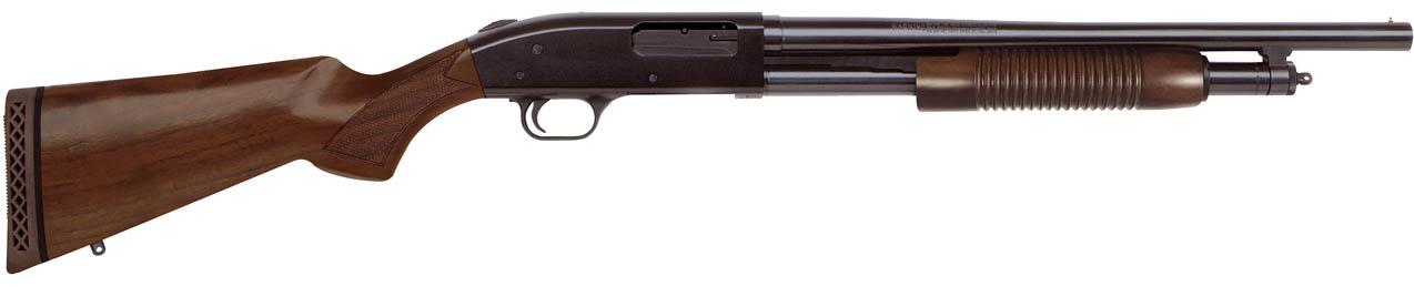 Escopeta de corredera MOSSBERG 500 SECURITY Persuader Retrograde - 12/76