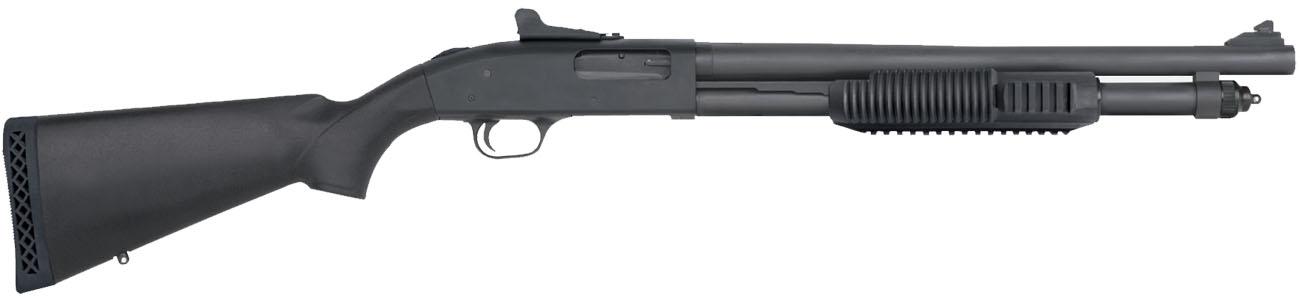 Escopeta de corredera MOSSBERG 590A1 MIL-SPEC - 12/76