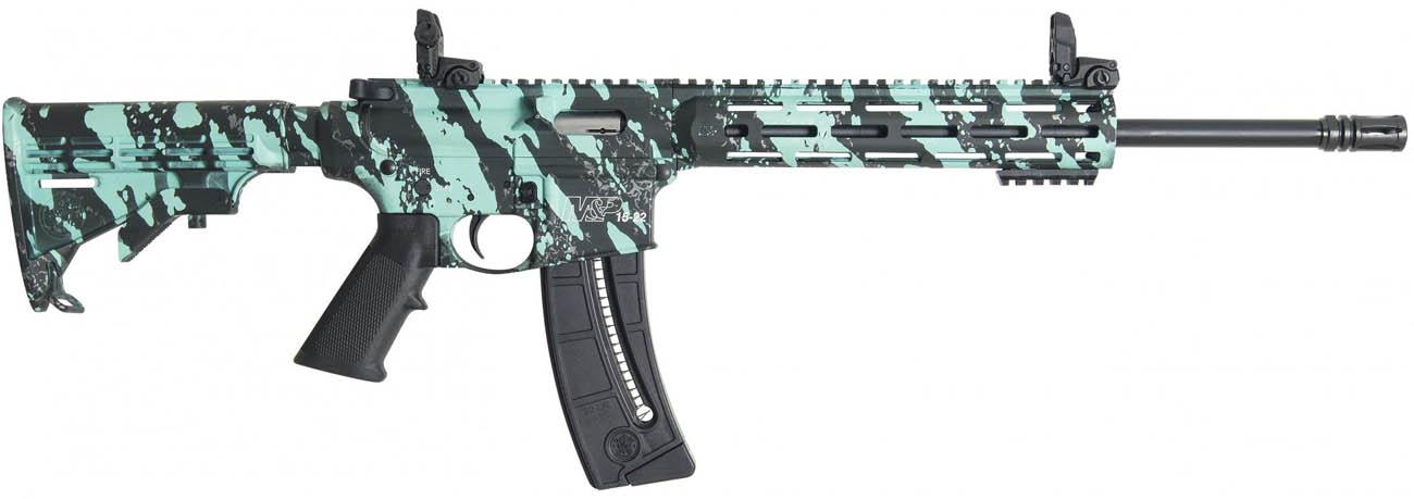 Carabina semiautomática Smith & Wesson M&P15-22 Sport ROBIN'S EGG