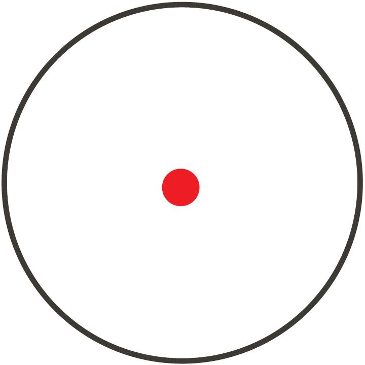 Retícula Punto rojo 5 MOA ilum.